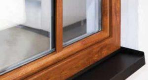 پنجره طرح چوب