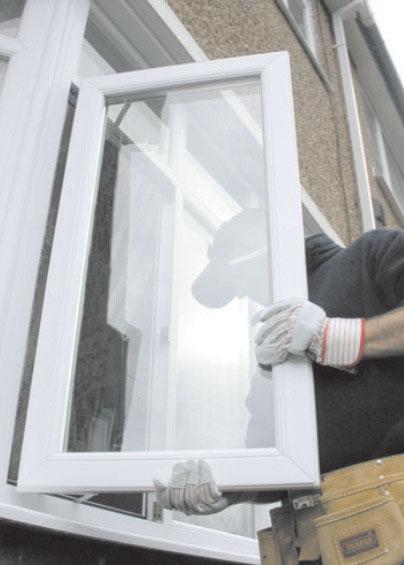 قیمت تعویض پنجره اتاتک ثابت دوجداره با پنجره فرسوده