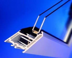 شیشه دوجداره صنعتی درجه یک با گاز ارگون