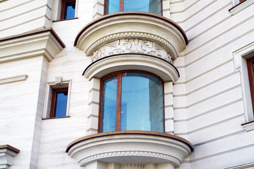 تعویض پنجره یو پی وی سی وین تک کمانی و قوس دار