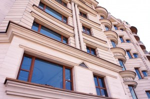 معماری ساختمان پنجره دوجداره