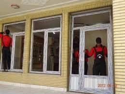 تعویض پنجره یو پی وی سی مدل جدید کمانی
