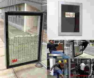 شیشه ضد سرقت-یوپی-وی-سی-ضدسرقت