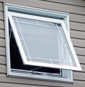 پنجره دوجداره مدل سایبانی