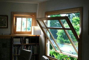 پنجره محوری