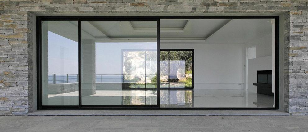 پنجره دوجداره یو پی وی س ی کشویی