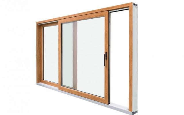 پنجره دو جداره کشویی