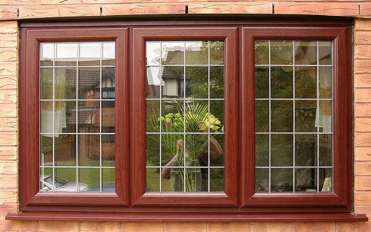 پنجره دوجداره بیرون لمینیت
