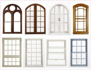 طرح و مدل پنجره دوجداره یو پی وی سی