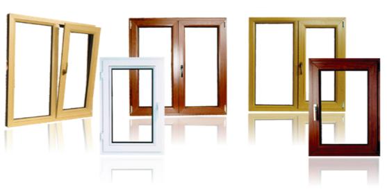 انواع درب و پنجره دوجداره لمینت