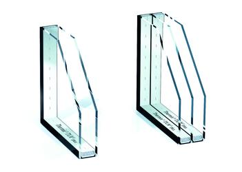 تفاوت شیشه دوجداره و شیشه سه جداره در کرج