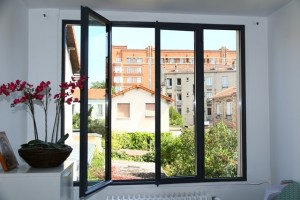 درب پنجره دوجداره upvc