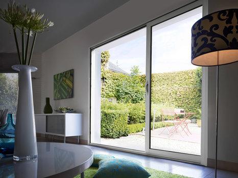 درب و پنجره دوجداره وین تک کشویی