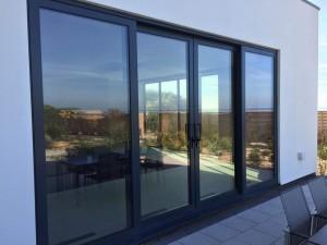 درب و پنجره دوجداره الومینیومی