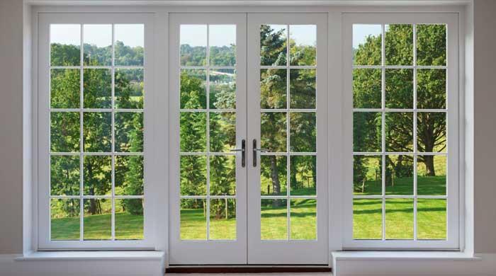 قیمت در و پنجره دو جداره upvc در کرج