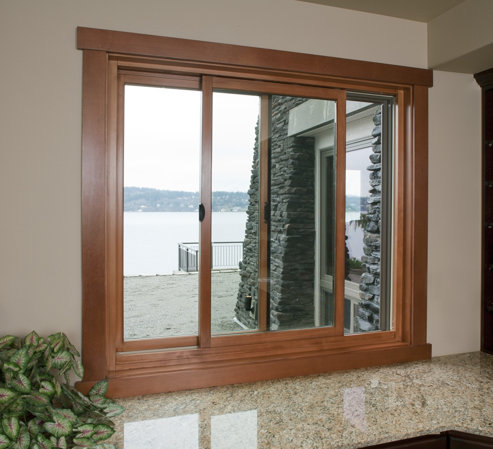 زیبا سازی پنجره اتاق رنگی کردن فریم و شیشه