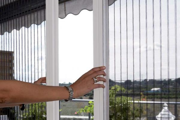 خرید توری ریلی پنجره upvc دو و سه جداره در کرج
