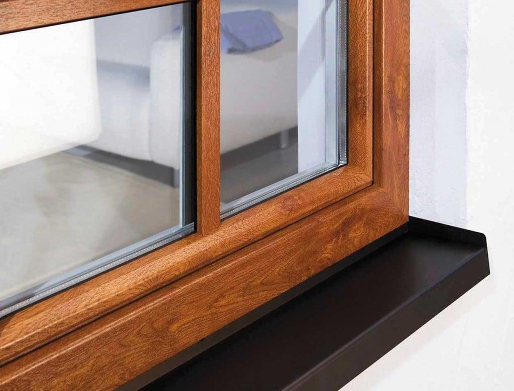 فروش پنجره دو جداره طرح چوب چند ضلعی در کرج