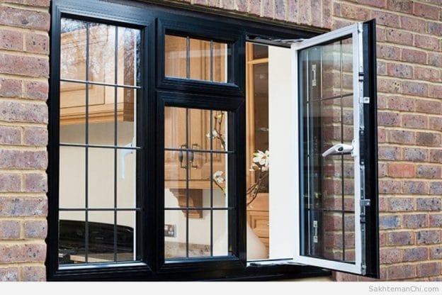 فروش انواع درب و پنجره آهنی دوجداره در کرج